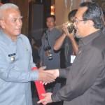 Penghargaan Percepatan Swasembada Lima Komoditas Pangan Pokok,P2BN dari MENTERI PERTANIAN,Jakarta 18 juli 2012