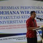 Sambutan mewakili Ketua IKA FK UNPAD