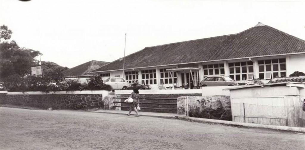 Suasana Kampus Dago 248 pada tahun 60-an